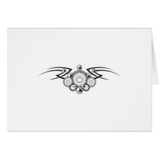 Aztec Flower Tattoo Design Cards