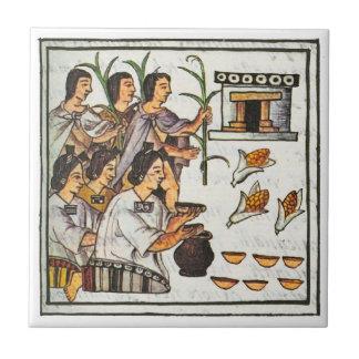 Aztec Food Tile
