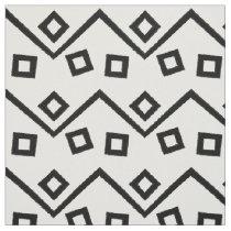 Aztec Geometric Abstract Pattern Fabric
