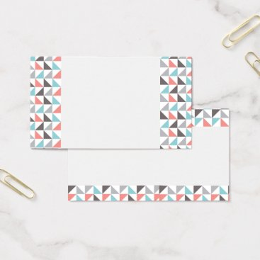 Aztec Themed Aztec Geometric Business Cards