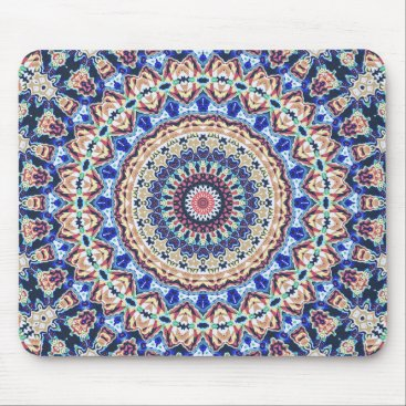 Aztec Geometry Mouse Pad