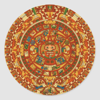 Aztec Gifts Qpc Template Classic Round Sticker