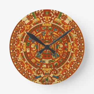 Aztec Gifts Qpc Template Round Clock
