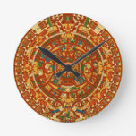 Aztec Gifts Qpc Template Round Wall Clock