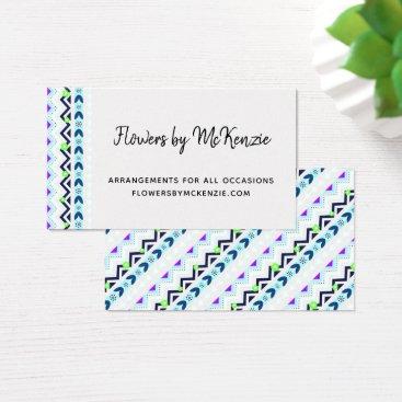 Aztec Themed Aztec Girl Business Card