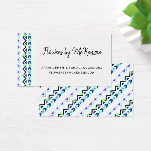 Aztec Girl Business Card