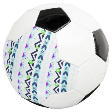 Aztec Themed Aztec Girl Soccer Ball