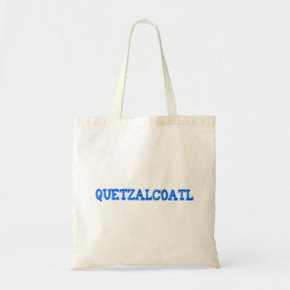 Aztec God aztec god Quetzalcoatl Tote Bags