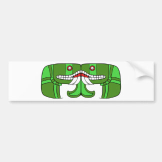 Aztec God of Earth Bumper Sticker