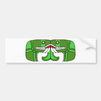 Aztec God of Earth Bumper Sticker