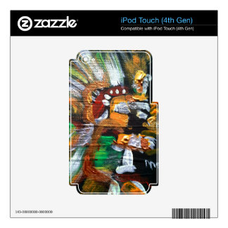Aztec God of Stars iPod Touch 4G Decal