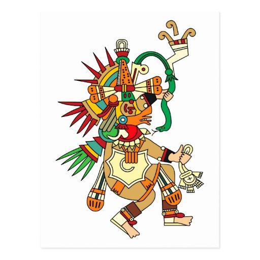 Aztec God Quetzalcoatl...
