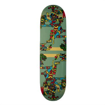 Aztec God Skateboard Deck