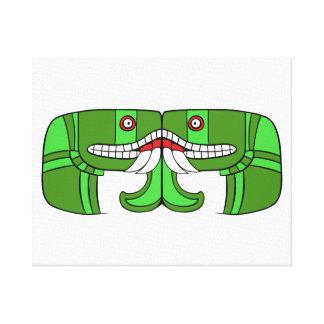 Aztec Goddess of Earth Canvas Print