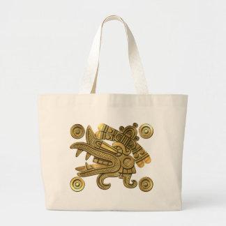 Aztec Gold Ehecatl Bags