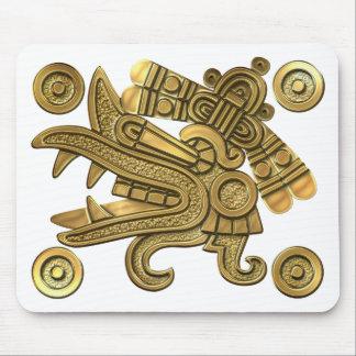 Aztec Gold Ehecatl Mousepad
