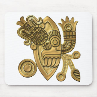 Aztec Gold Knife Blade Mouse Pad