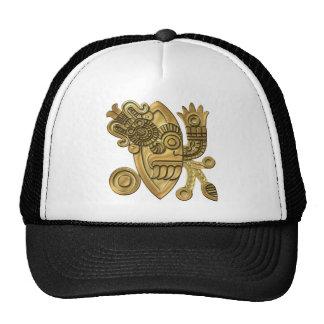 Aztec Gold Knife Blade Trucker Hat