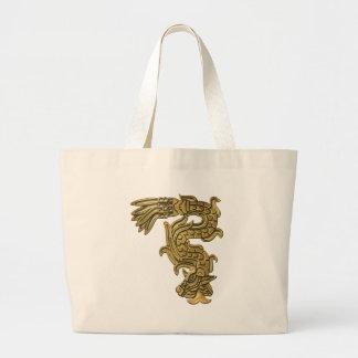 Aztec Gold Serpent Bag