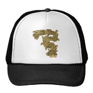 Aztec Gold Serpent Trucker Hat