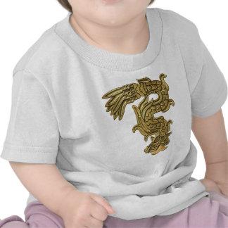 Aztec Gold Serpent Shirt