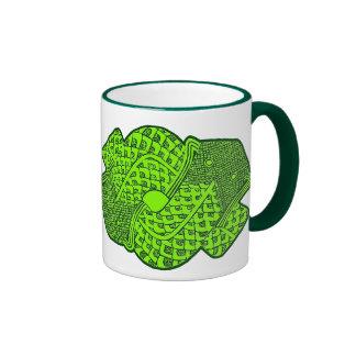 Aztec Green Serpent Mug