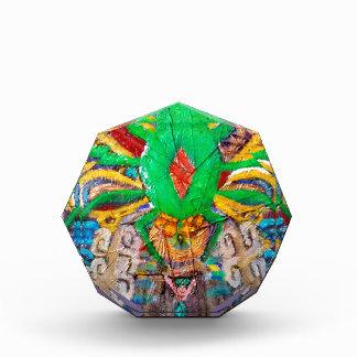 Aztec Green Spider Queen Acrylic Award