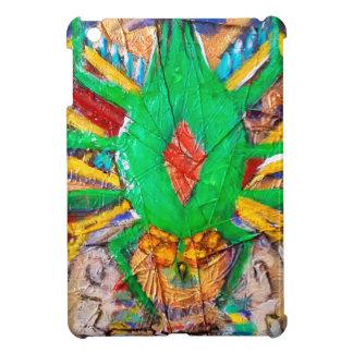Aztec Green Spider Queen iPad Mini Cover