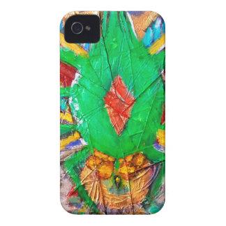 Aztec Green Spider Queen iPhone 4 Case-Mate Case