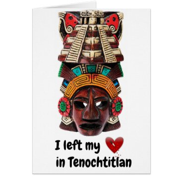 Aztec Themed AZTEC HEART CARD
