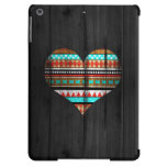 Aztec heart cover for iPad air