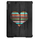 Aztec heart iPad air case