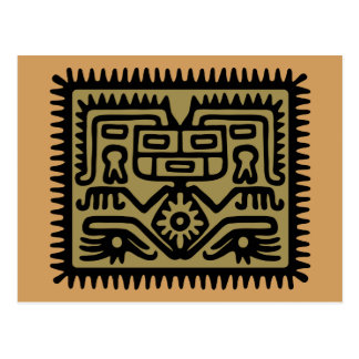 aztec hocker postcard