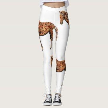 Aztec Themed Aztec Horse Leggings