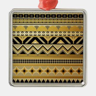 Aztec II Metal Ornament