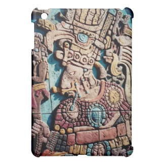Aztec Indian Mayan priest iPad Case Shell Cover