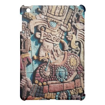 Aztec Themed Aztec Indian Mayan priest iPad Case Shell Cover