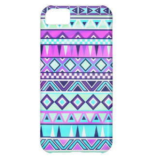 Aztec inspired pattern cover for iPhone 5C