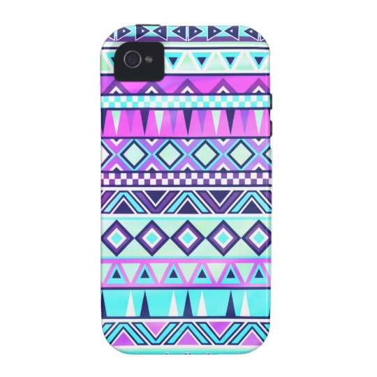Aztec inspired pattern Case-Mate iPhone 4 case