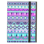Aztec inspired pattern iPad cases