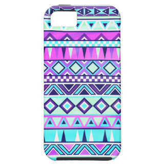 Aztec inspired pattern iPhone 5 cases