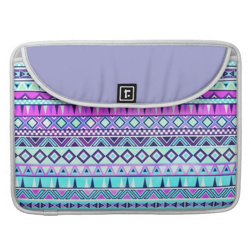 Aztec inspired pattern sleeve for MacBook pro