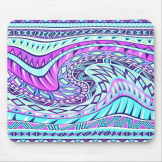 Aztec inspired pattern mouse pad