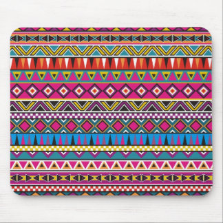 Aztec inspired pattern mouse pads
