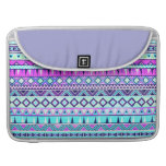 Aztec inspired pattern sleeves for MacBook pro