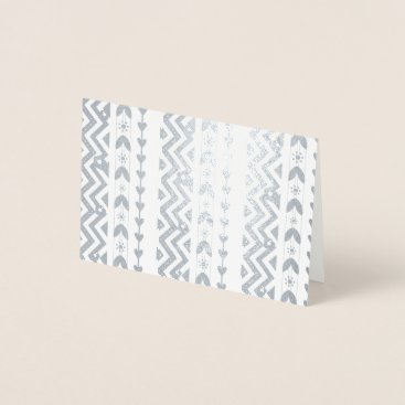 Aztec Themed Aztec Inspired Stationery Foil Card