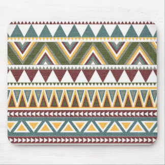 Aztec Intricate Pattern Mouse Pad