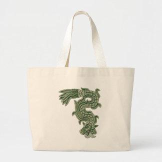 Aztec Jade Serpent Bag