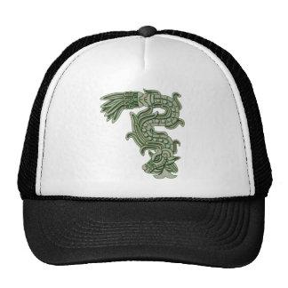 Aztec Jade Serpent Trucker Hat