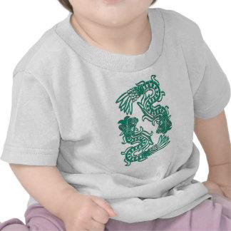Aztec Jade Serpents T-shirt